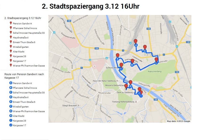 Stadtspaziergang - Route 03.12